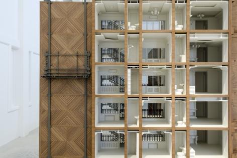 Nazgol Ansarinia,Revolution Begins at Home, Installation view at Sharjah Architecture Triennial, UAE, 2019