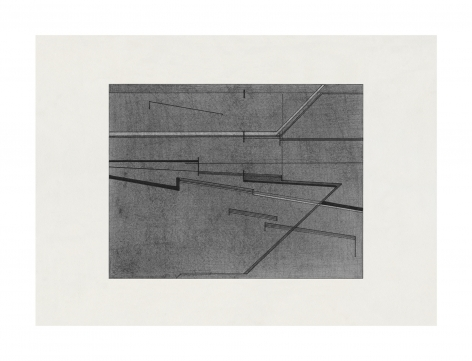 Seher Shah,Variations in Grey, 2020-2021, Graphite dust and ink on ivory Russian paper, 21 x 29 cm