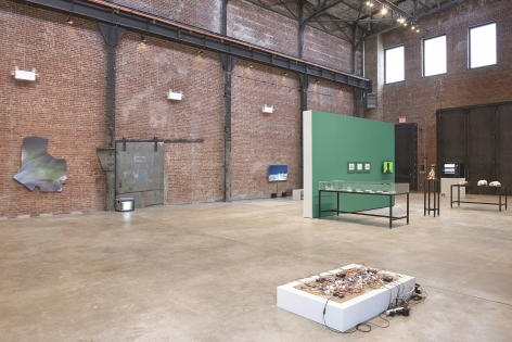Installation view atSculptureCenter, New York, 2018, Photo byKyle Knodell
