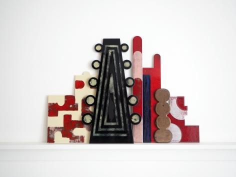 Lubna Chowdhary, Certain Times XXXI, 2019, Glazed ceramics, 45 x 85 cm