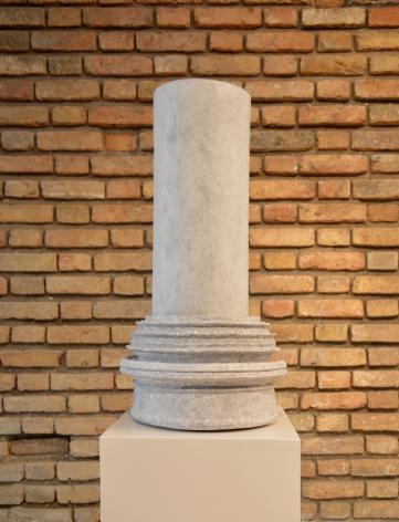 Nazgol Ansarinia,Article 46, Pillars,2014, Paper paste and cardboard, 62x 32x 32cm