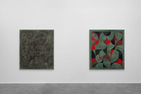 Arabesque,Kamrooz Aram, Installation view at Green Art Gallery, Dubai, 2019