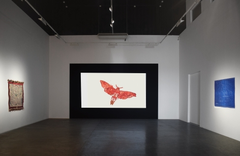 Installation view at Green Art Gallery, Dubai, UAE, 2021