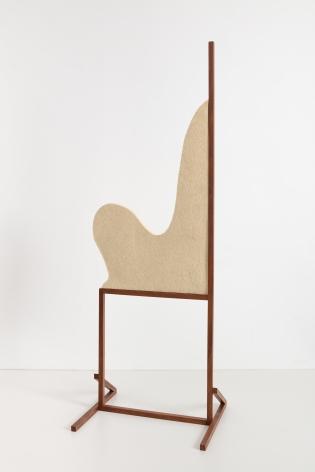 Ana Mazzei, Rio, 2020, Wood (peroba mica) and felt