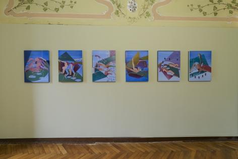 Maryam Hoseini,Installation view atHEARTBREAK, Venice, Italy, 2019