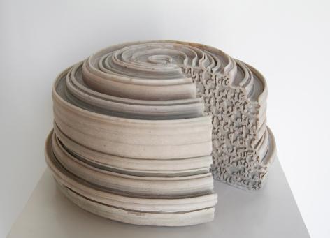 Nazgol Ansarinia, Article 49, Pillars, 2014, Cast resin & paint, 20 x 40 x 40 cm