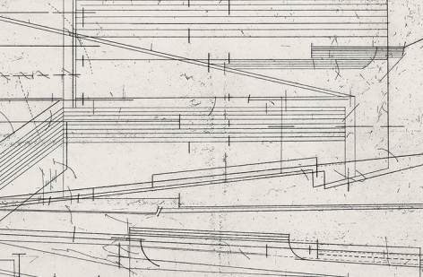 Seher Shah, Ruined Score (detail), 2020