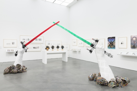 Michael Rakowitz,Backstroke of the West, Installation view at Museum of Contemporary Art, Chicago, 2017