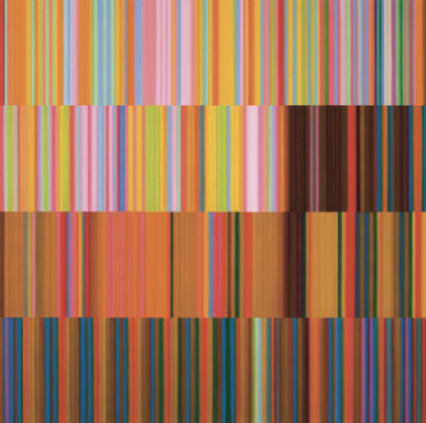 Changes, 2011, synthetic polymer on canvas, 60 x 60 inches