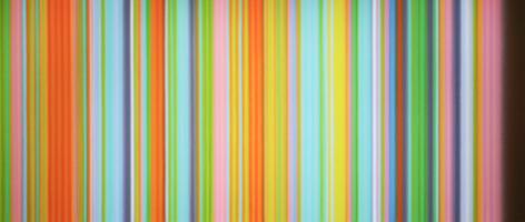A Kind of Magic, 2010, synthetic polymer on canvas,36 x 84 in