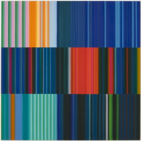 Black Math,2010, Synthetic polymer on canvas