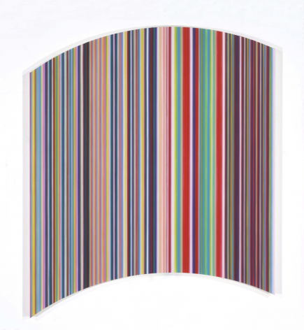 Kiss #2, 2013, synthetic polymer on canvas,60 × 60 in