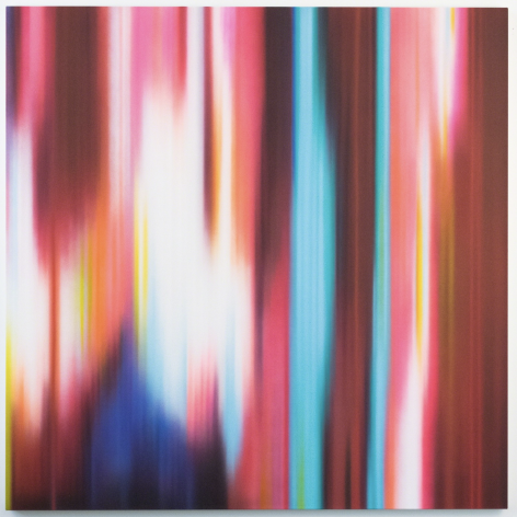 Andromeda, 2012, dynthetic polymer on canvas,64 × 64 in