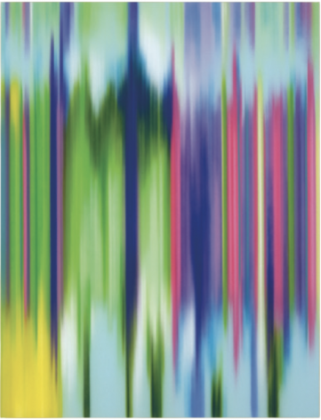 Kosmos, 2011, synthetic polymer on canvas, 84 x 64 inches