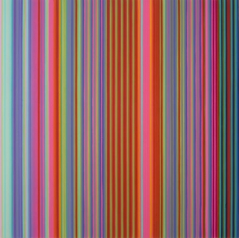 Can't Take It With You, 2010 / synthetic polymer on canvas / 84 x 84 inches