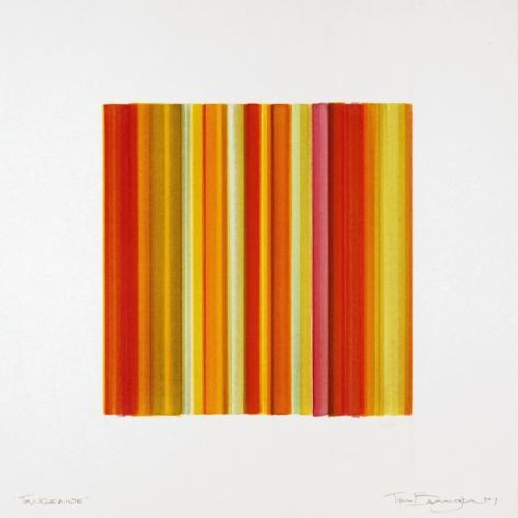 Tangerine, 2017, watercolor on paper
