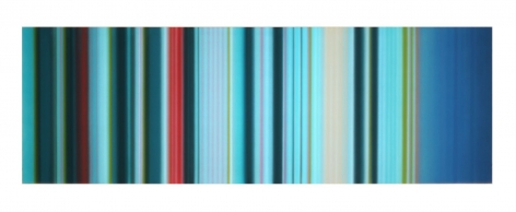 Aquamarine, 2017 Synthetic polymer on canvas