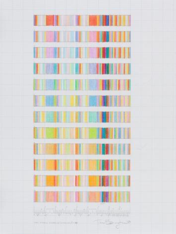 Long Distance Runaround (interlude) C, 2002, pencil on graph paper