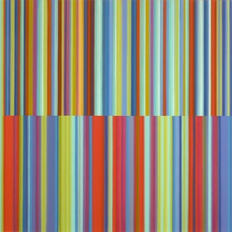 Long May You Run, 2010 / synthetic polymer on canvas / 64 x 64 inches