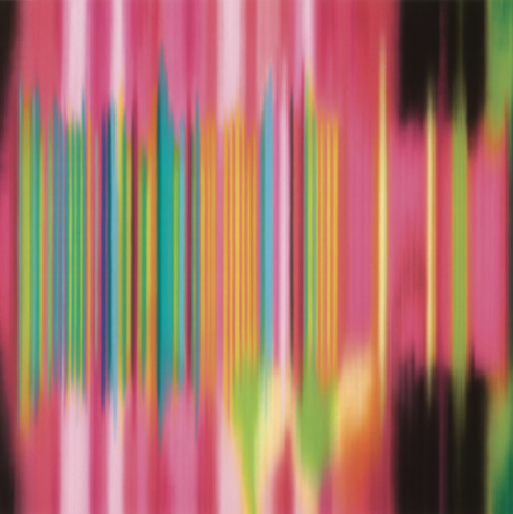 Manic, 2011, synthetic polymer on canvas, 64 x 64 inches