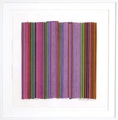 Science (A), 2010 / pastel on Rives BFK paper / 30 x 30 inches