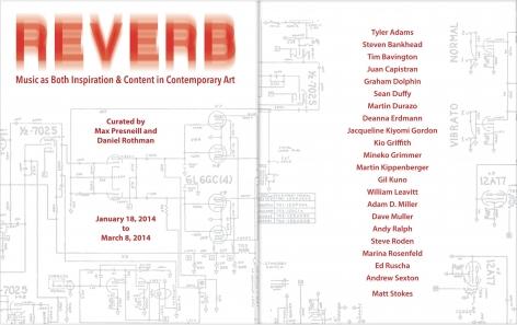 Reverb, catalogue title page
