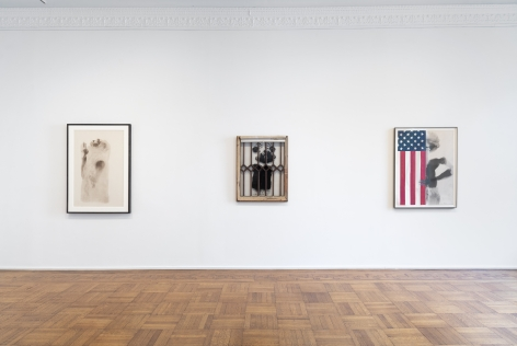 Unseen Works: David Hammons and Friends ​Installation View