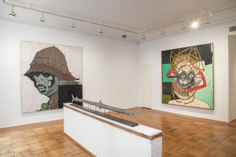 Zachary Armstrong: George Installation View