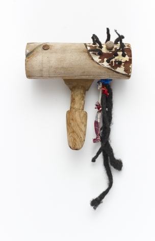 "John Outterbridge ""Dreads"", 2011 Mixed media 10 x 10 x 6 inches"