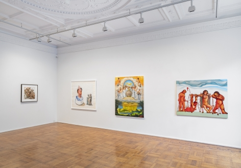 Nicole Eisenman: Nineteen Nineties Installation View