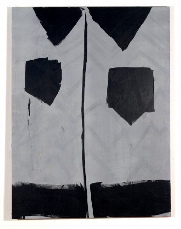 """Brenna Youngblood, """"NYT"""", 2010, acrylic on board, 48 x 36 1/8 inches"""