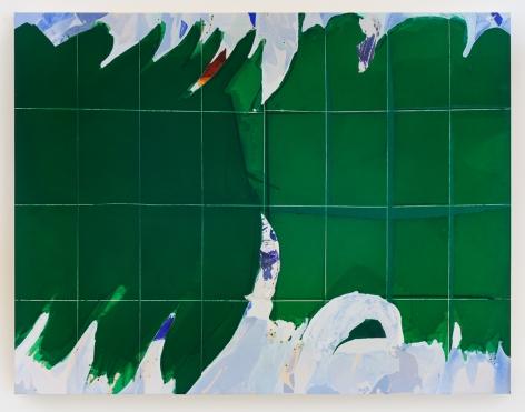 "Han Bing ""Champs-Élysées"", 2018 Acrylic on canvas 55 x 70 inches"