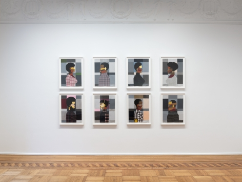 Derrick Adams: Figures in the Urban Landscape  ​Installation View