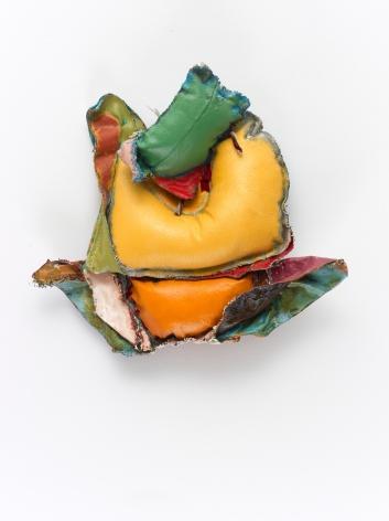 "John Outterbridge ""Rag and Bag Idiom I"", 2012 Mixed media 14-1/2 x 15-3/4 x 3-1/2 inches"