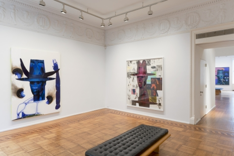 Jeff Sonhouse: Masked Reduction Installation View