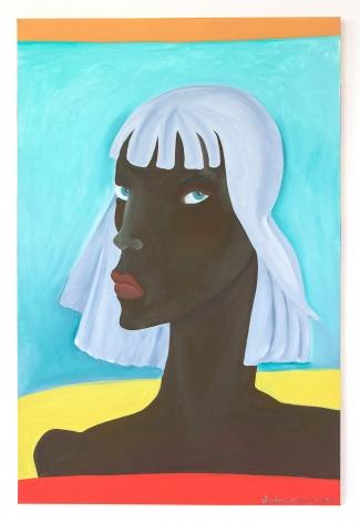 Barbara Nessim, Grey on Gray, 2020