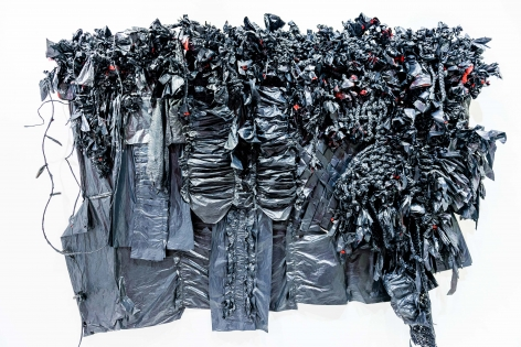 Force Flex: Black garbage bags and cable wires