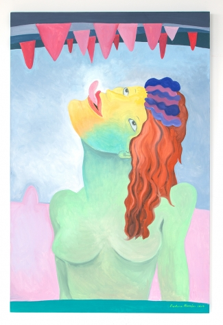 Barbara Nessim Gift of Tongues, 2019