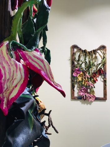 Installation view, 'Valerie Hegarty: Elegies to the Environment', 2019.