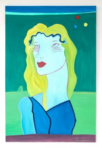 Barbara Nessim, Primary Moons, 2019