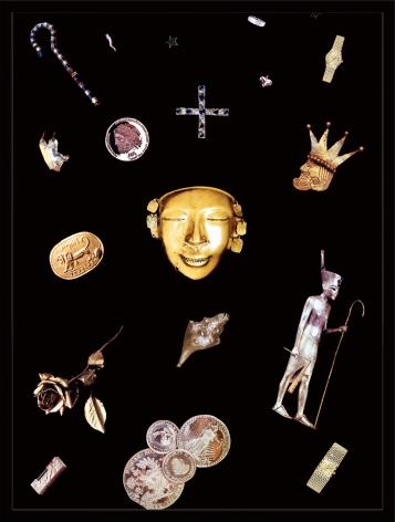 Sarah Charlesworth, Gold,1986