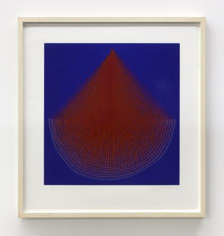 Kazuko Miyamoto, Lines From Semicircle, 2009