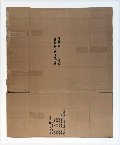 Matias Faldbakken, Flat Box Lithography #03, 2014