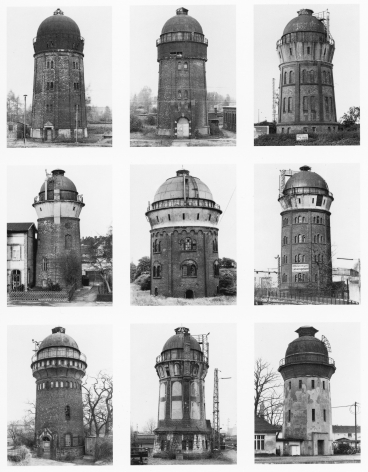 Bernd and Hilla Becher, Water Towers, 1963-98