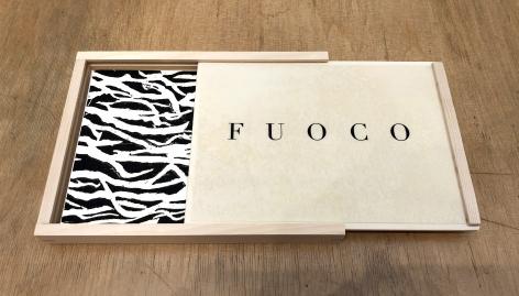 Beatrice Caracciolo,  Attraversare il Fuoco (Fuoco Wood Box), 2013