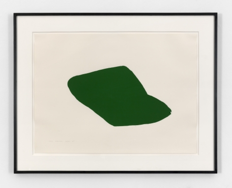 Joel Shapiro, Untitled (Green), 1979-1980