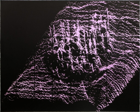 Craig Kauffman  Untitled, 1971  Lithograph