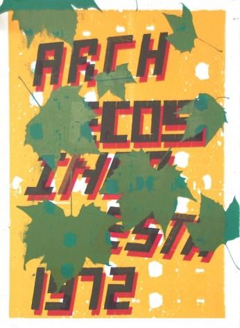Jason Meadows Hybrids, 2004 Lithographic Monoprint, silkscreen, ed. 131, no. 41 30 x 22 in.