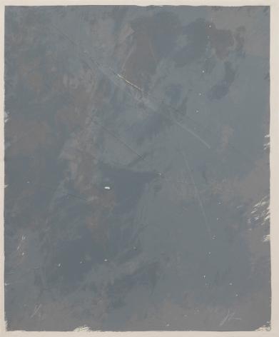 Joe Goode  Rainy Season '78, No. 5, 1978  Lithograph with razor blade impression by artist