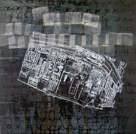 Mark Bradford, Print 14